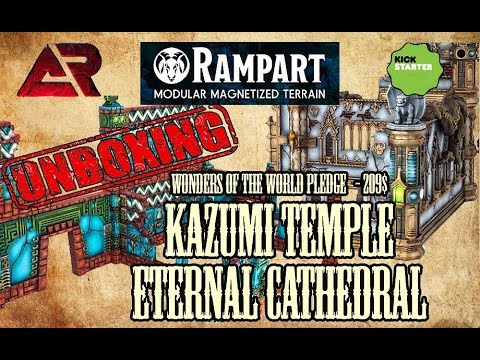 Rampart  - Kazumi Temple and Eternal Cathedral -  Unboxing
