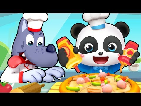Little Pizza Maker  Learn Colors Colors Song Jobs Song  Nursery Rhymes  Kids Songs  BabyBus