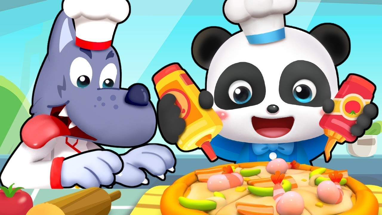 Little Pizza Maker | Learn Colors, Colors Song, Jobs Song | Nursery Rhymes | Kids Songs | BabyBus