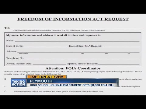 High School Journalist Hit With Nearly $8,000 Bill For FOIA Request