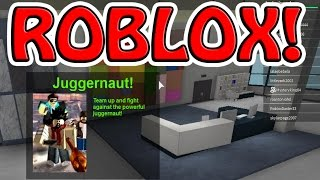 ROBLOX JUGGERNAUT ~ LET'S PLAY