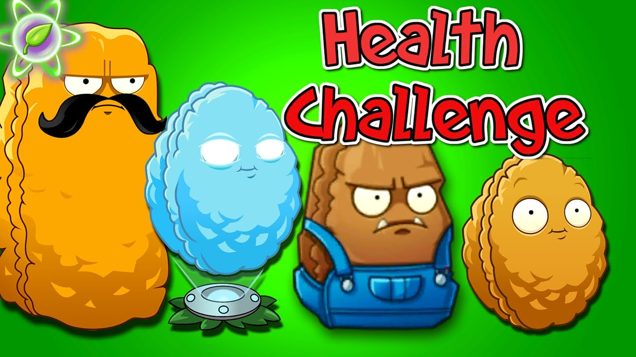 Plants vs  Zombies 2 Gameplay Health Wall-Nuts Challenge Primal Plantas  Contra Zombies 2 Mod PVZ 2