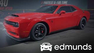 2018 Dodge Challenger SRT Demon First Look Review