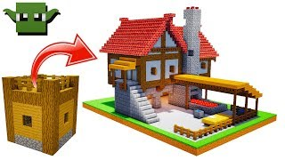 Minecraft Medieval Blacksmith Tutorial EASY 5X5 BUILDING SYSTEM YouTube