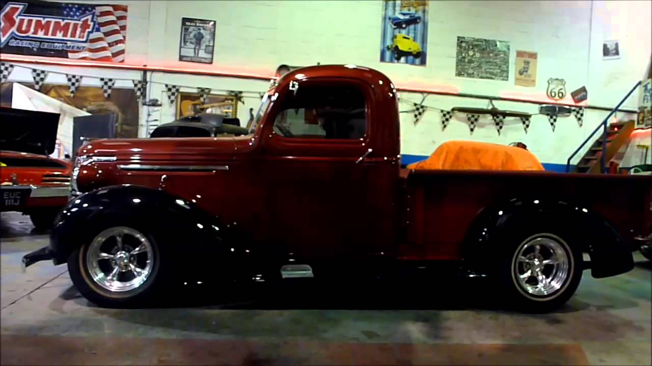 Truck 1940 chevy truck for sale : 1940 Chevrolet Pickup Truck Air Ride Check - YouTube