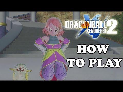 Dragon Ball Xenoverse 2: How To Burst Dash, Z Vanish, Play - Supreme Kai Of Time's Tutorial
