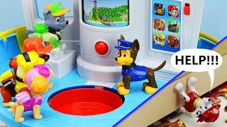 Download MARSHALL'S IN TROUBLE! Paw Patrol My Size Lookout Tower, Rescue Mission & Puzzle Toy Learning Video Mp3 and Videos