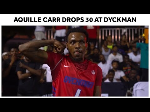 """Aquille """"Crime Stopper"""" Carr Pulls Up to NYC and Scores 30 - Full Highlights"""