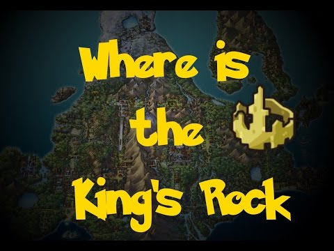 Where Is: The King's Rock (Pokemon Platinum)