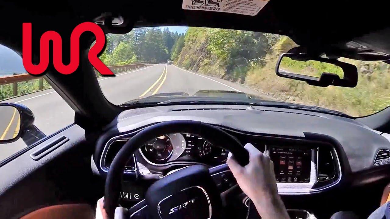 Dodge Challenger Srt Hellcat Manual Wr Tv Pov Test Drive