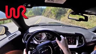 2015 Dodge Challenger SRT Hellcat (Manual) - WR TV POV Test Drive