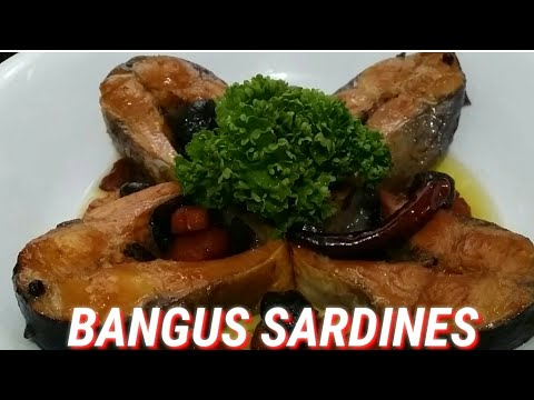 BANGUS SARDINES]SPANISH STYLE BANGUS SARDINES]MILKFISH SARDINES