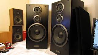 "Pioneer speaker system CS-7030 RARE MODEL 190 WATTS 10"" WOOFERS AMAZING SOUND"