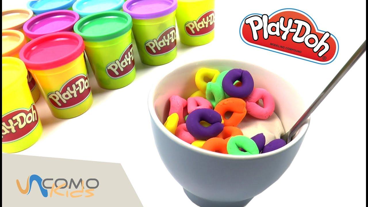Play doh cocina desayuno de plastilina youtube - Cocina play doh ...