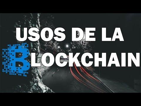 Usos de la blockchain