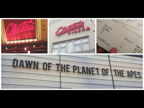 My time at the Electric cinema!