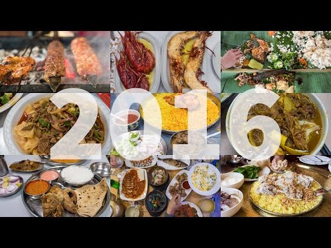 The 10 Best Food Travel Meals of 2016!