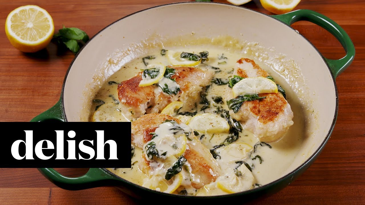 Creamy Lemon Parmesan Chicken Delish Youtube,Family House Two Story 5 Bedroom 2 Story House Plans