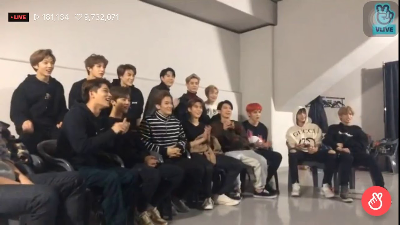 NCT VLIVE CHRISTMAS wish by each member