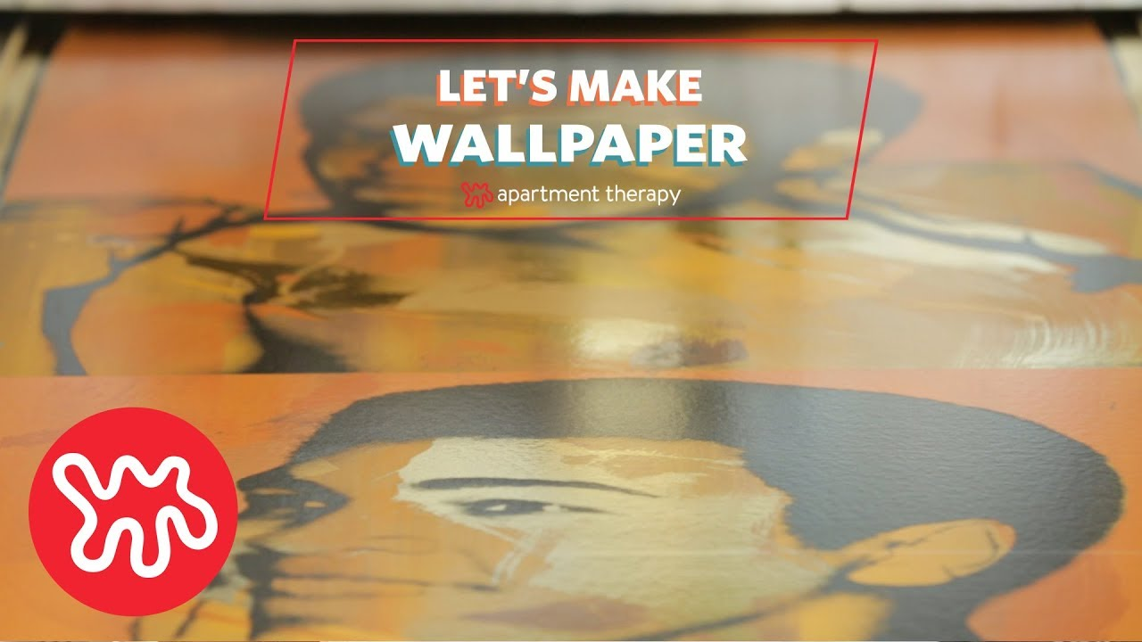 Let\'s Make Wallpaper with Flavor Paper! | Apartment Therapy