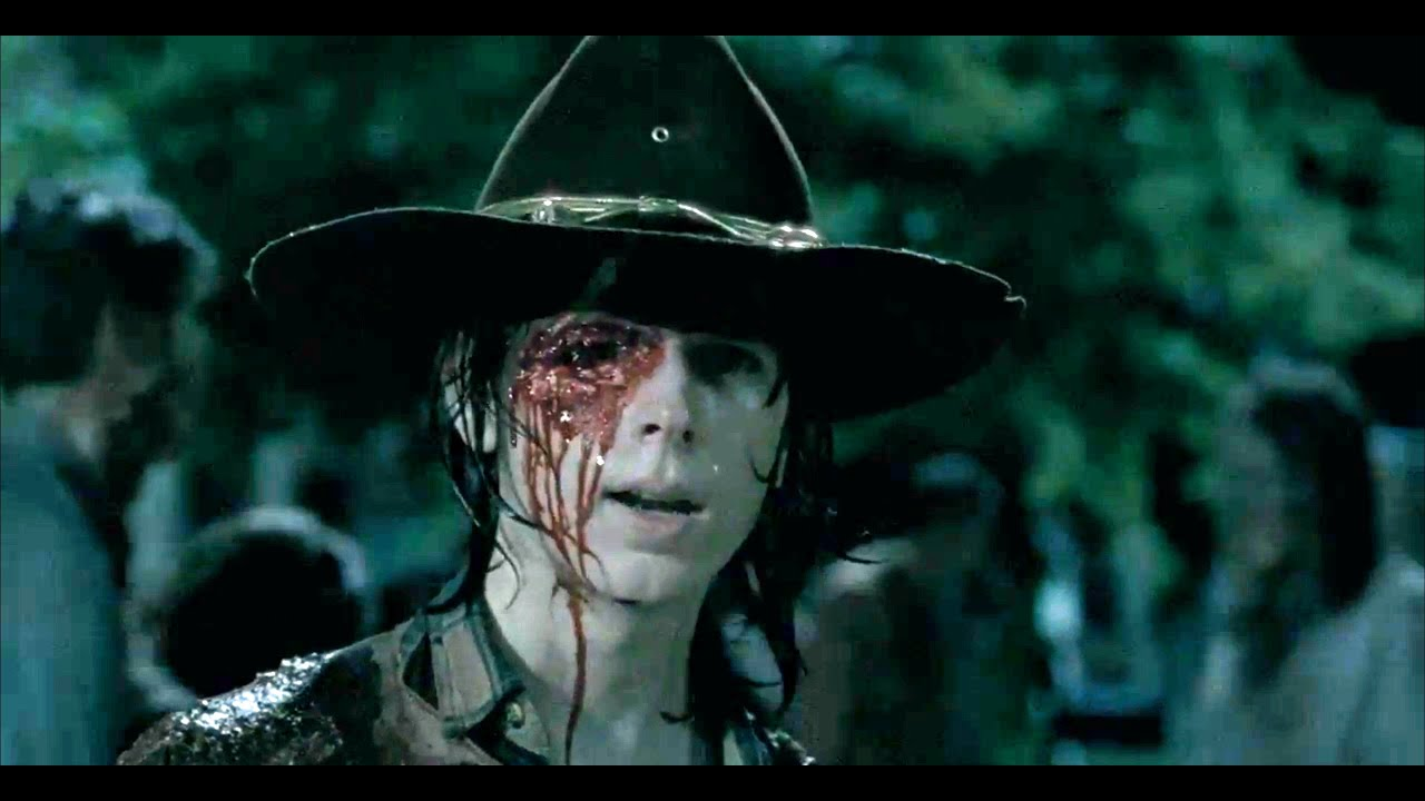 Image result for the walking dead carl's death