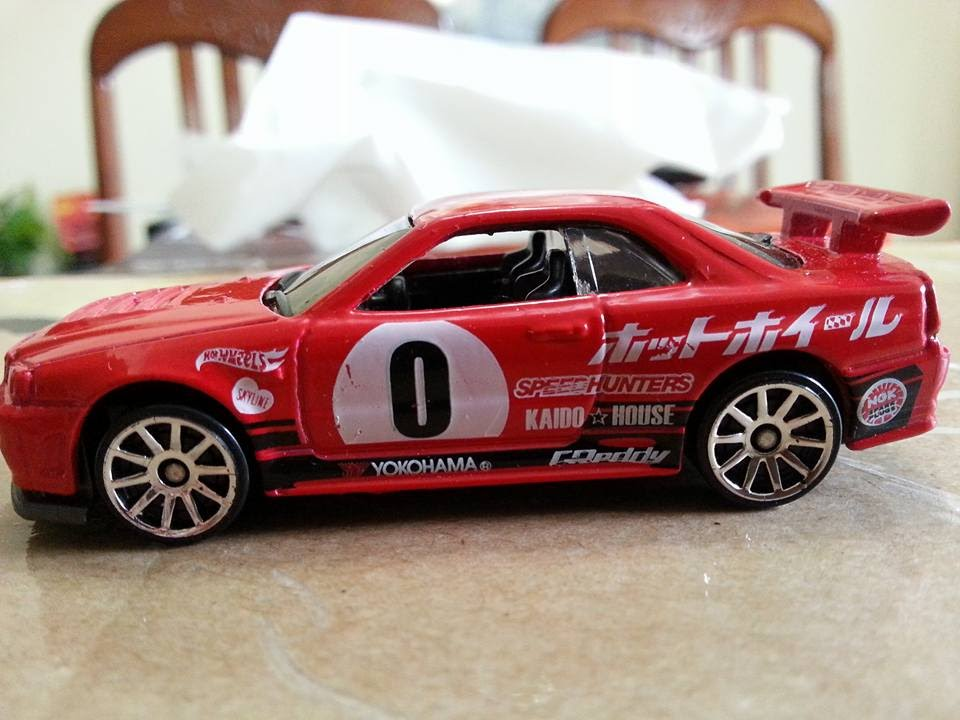 Hot Wheels Upcoming 2016 Nissan Skyline Gt R R34 Red