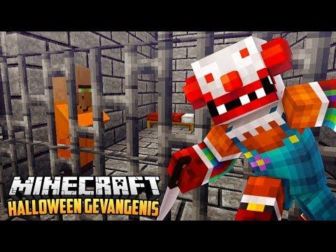 HALLOWEEN GEVANGENIS ESCAPE - Minecraft Roleplay