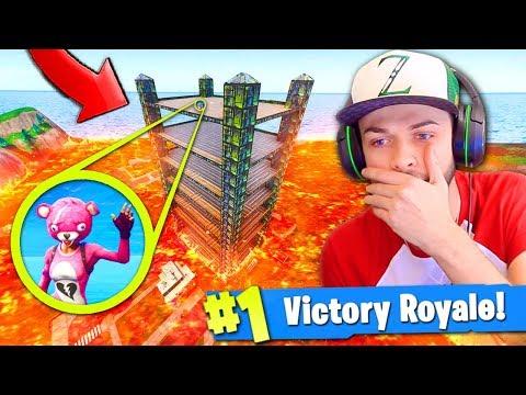 *NEW* DEATH TOWER Custom Mode in Fortnite: Battle Royale!