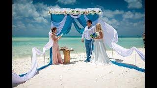 Свадьба за границей  Свадьба на мальдивах  Евгений и Алина