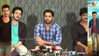 Nithin Speech @  Akhil Movie Success Meet