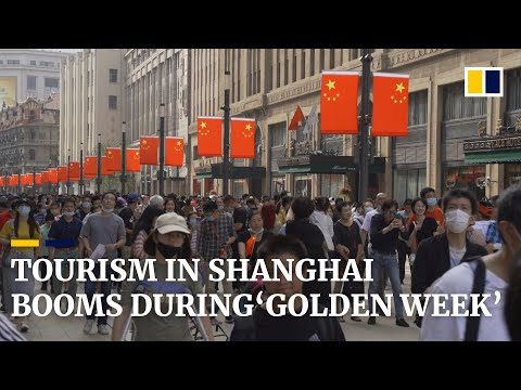 With Covid-19 infections under control, tourism in Shanghai booms during China's 'golden week'