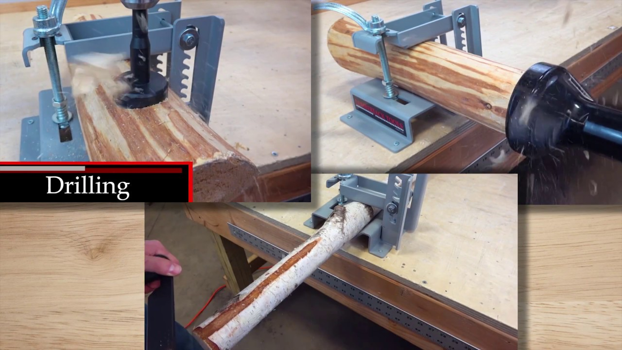 Log lock clamp system youtube