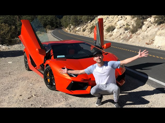 Buying the Cheapest Lamborghini Aventador in the Nation