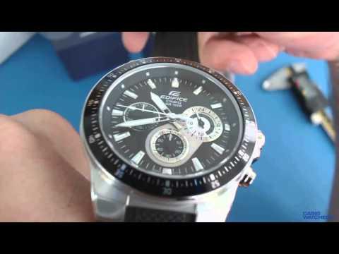 Casio Edifice Chronograph EF - 552-1AV