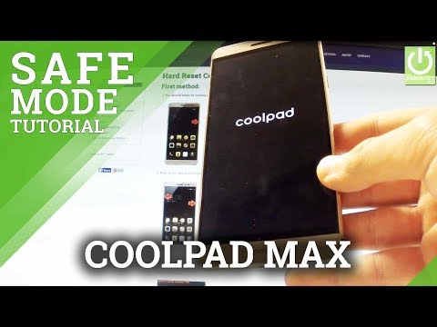 Safe Mode CoolPAD Note 5 Lite - HardReset info