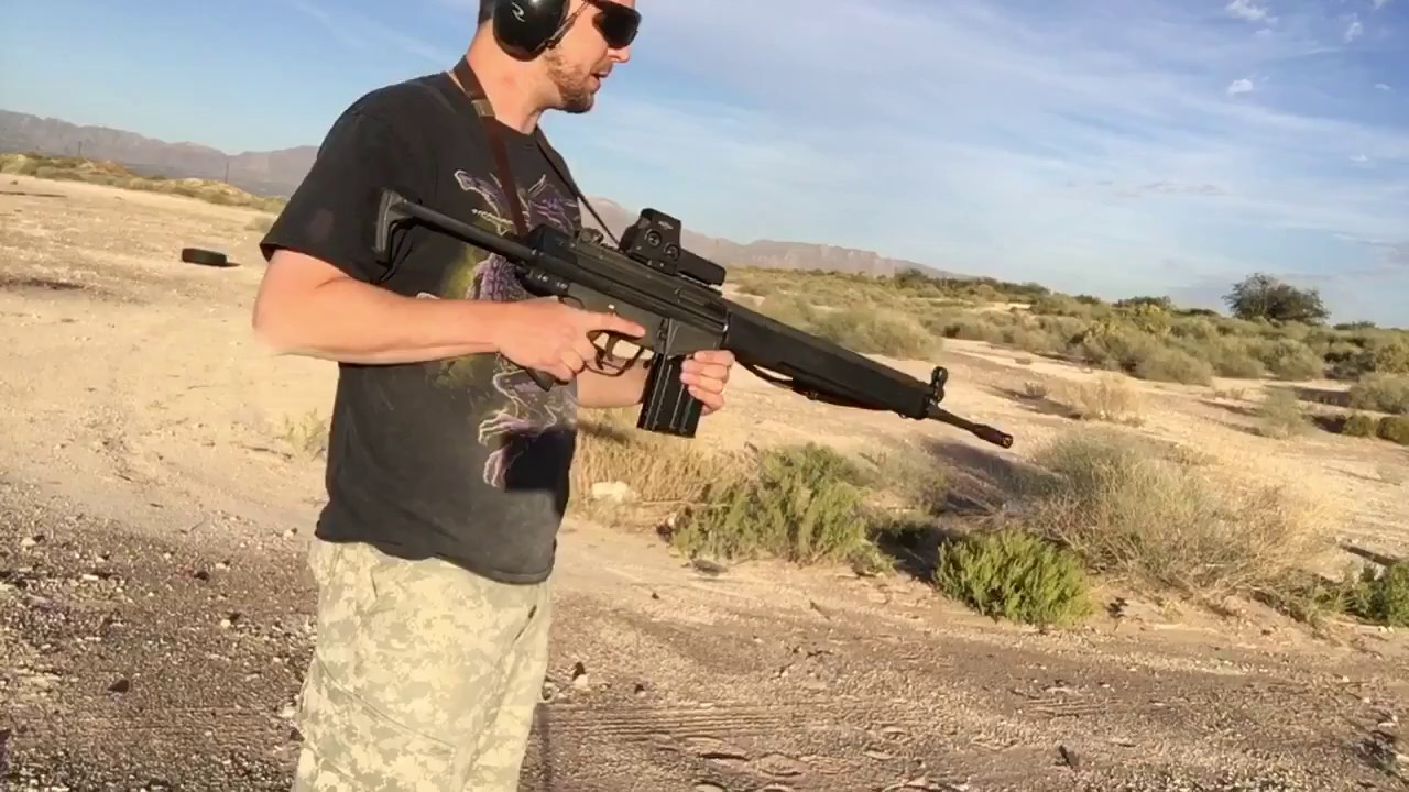 PTR91 with Retractable Stock Recoil