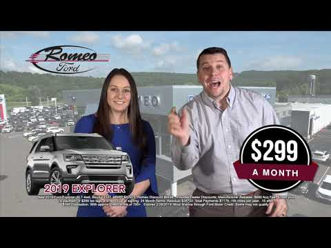2019 Ford Explorer | 2019 Ford Fusion | Romeo Ford of Kingston
