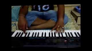 "song ""thoda sa pyar hua hain thoda hain baki"" covered by me on piano :)"
