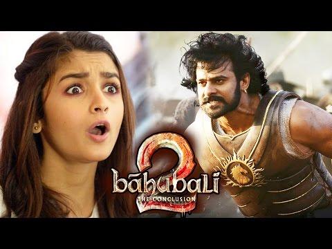 Alia Bhatt का Baahubali 2 पर CUTE Reaction - देखिये विडियो