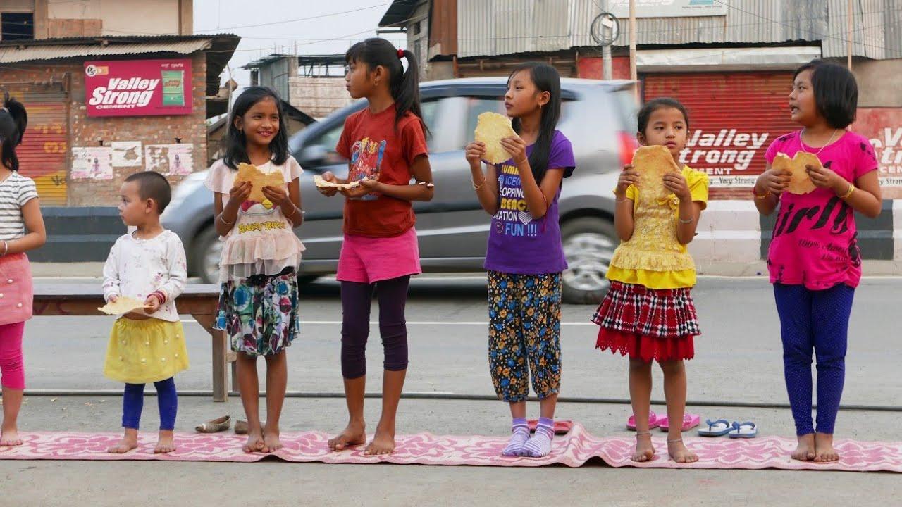Yaosang - Holi - Children Sport Festival - Imphal Manipur India