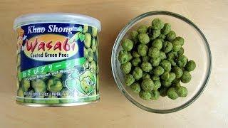 Khao Shong Thailand - Wasabi Coated Green Peas