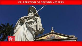25 January 2021 Celebration of Second Vespers