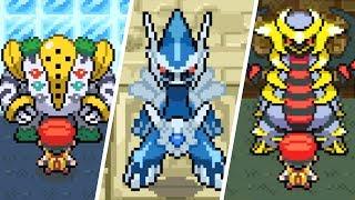 Pokémon Diamond / Pearl - All Legendary Pokémon Locations