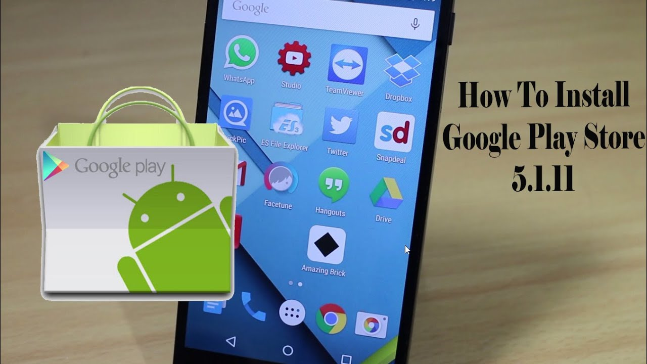 how to install google play store v