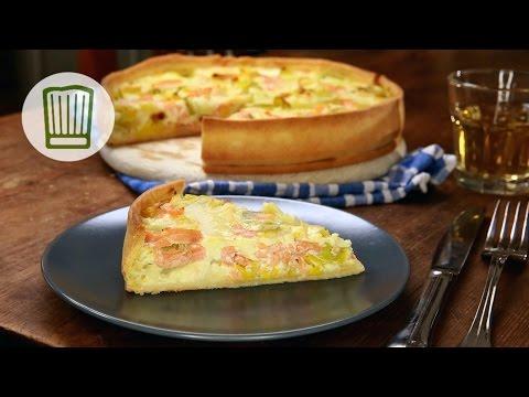 Lachs-Quiche Rezept #chefkoch