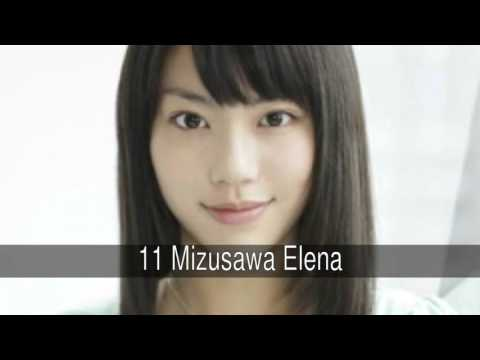 The most beautiful Japanese actresses