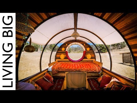 A Caravan Home Like No Other - The Incredible Unity Wagon