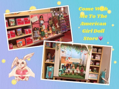 Come With Me To The American Girl Doll Store In Franklin Tennessee!