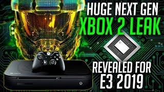 NEW Next Gen Xbox 2 Leak | Xbox Anaconda and Lockhart REVEALED at E3 2019 | Xbox Two Launch Titles