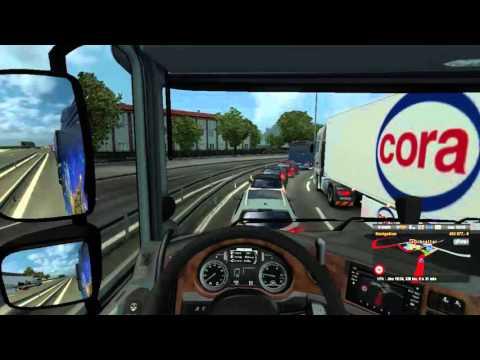 Euro Truck Simulator 2 Voyage TSM | L'IA devient folle !! Accéléré ou non ? #11